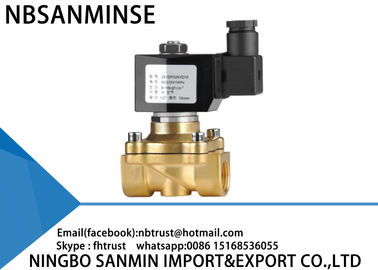 China Large Diameter Brass Solenoid Valve Explosion Proof Solenoid Valve 2 Way supplier