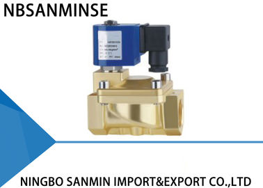 China P6 Two Way Forged Brass Solenoid Valve Pilot Operated Solenoid Valve supplier