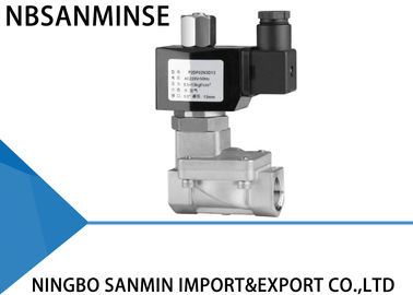 China Fast Acting Diesel / Fuel Solenoid Valve 12 Volt 24 Volt P9 ISO9001 Certification supplier