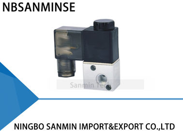 "China Pneumatic Solenoid Valve 3 Way 2 Position M5 G 1/8"" Airtac Type 3V1 Normally Closed supplier"
