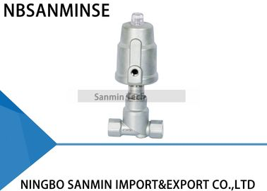 China JDF800 Pneumatic Angle Seat Valve Right Stainless Steel Angle Valve supplier