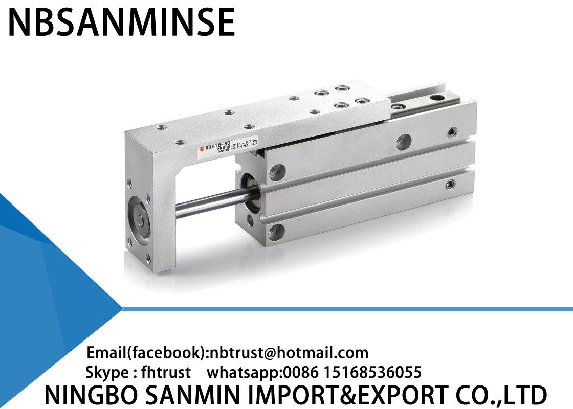 MXH Slide SMC Pneumatic Cylinder High Reliability 0.15MPa / 0.06MPa Minimum Pressure