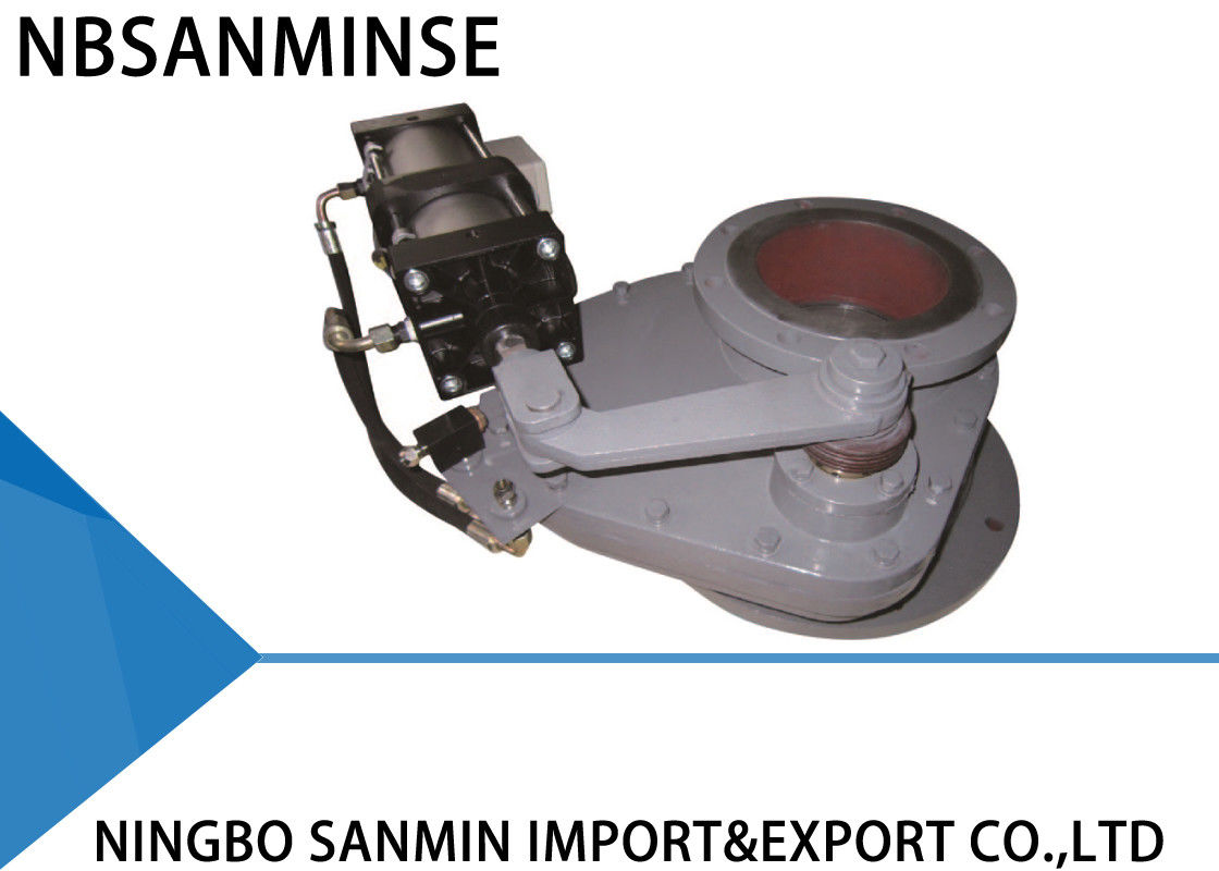 SMDF-DNB-J Double Disk Gate Valve Small Starting Load For Ash Conveying System