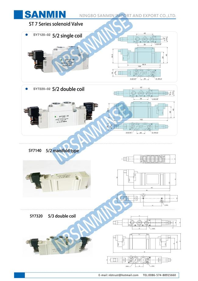 sy7000 small smc solenoid valve manifold mounted individually high rh pneumaticsolenoid valve com