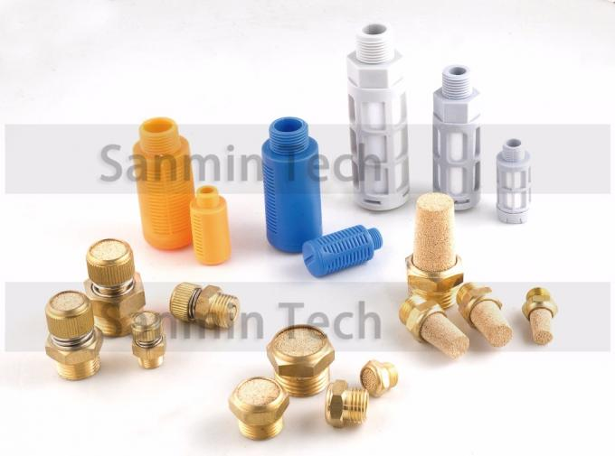 Air Muffler Sintered Copper Muffler Filte Pneumatic Air Fittings NBSANMINSE SP Type
