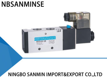 High Pressure Pneumatic Solenoid Valve , Air Directional Control Valve 4V 300 Series