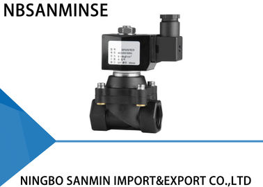 Z8 Reinforced Nylon Plastic Solenoid Valves For Water , Industrial / Irrigation Solenoid Valve
