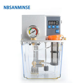 NBSANMINSE SDX2-22C Thin Oil Lubrication Pump Gear 2 liter 3 Liter 2 Mpa with single / Double digital display For CNC Ma