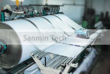NBSANMINSE Large Capacity Textile Making Machine / Textile Manufacturing Equipment